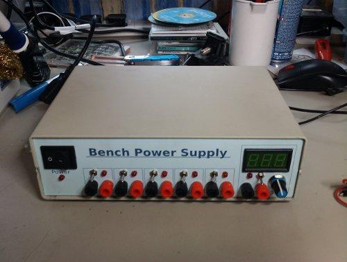 Bench Powersupply My Scratchpad